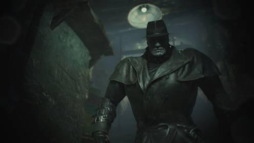 resident evil 2 remake mr x et son chapeau