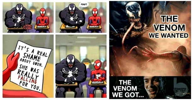 spiderman 3 meme venom comics
