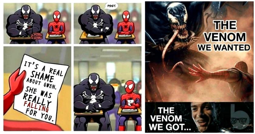 spiderman 3 meme venom comics