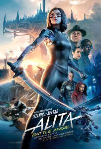 Alita battle angel affiche film