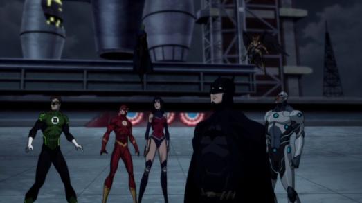 Le regne des supermen la justice league réunie