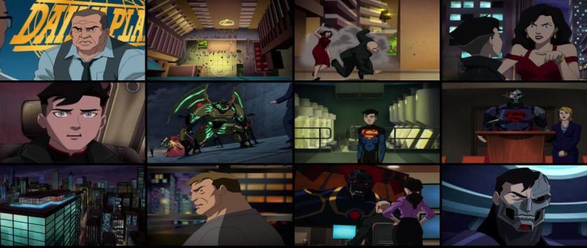le regne des supermen screencaps du film
