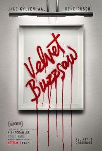 velvet-buzzsaw-NETFLIX affiche
