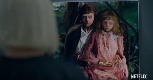 velvett buzzsaw peinture angoissante d'un frère et sa soeur