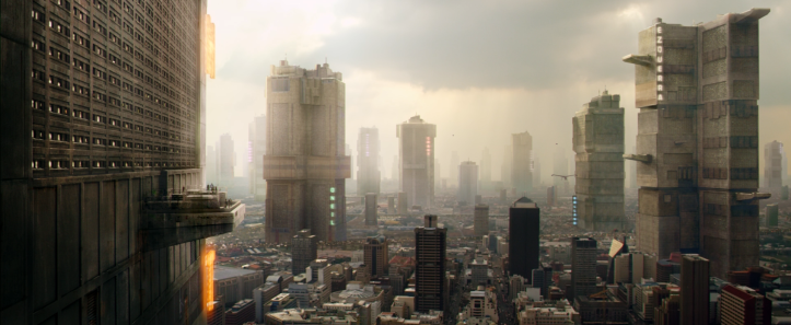 Dredd 2012 mega city one