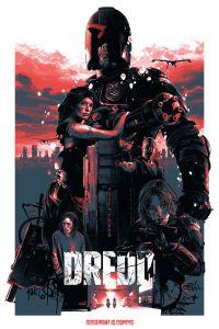 Dredd 2012 poster fan