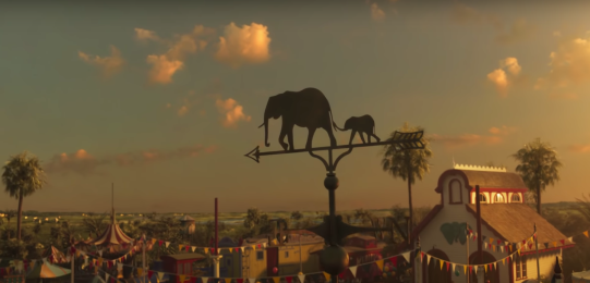 Dumbo 2019 tim burton cirque medici