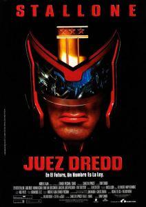 Judge dredd 1995 stallone affiche cinéma