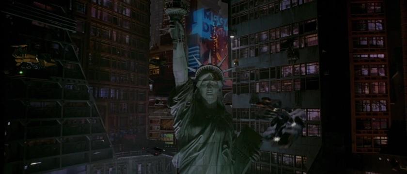 judgedredd mega city one et sa statue de la liberté