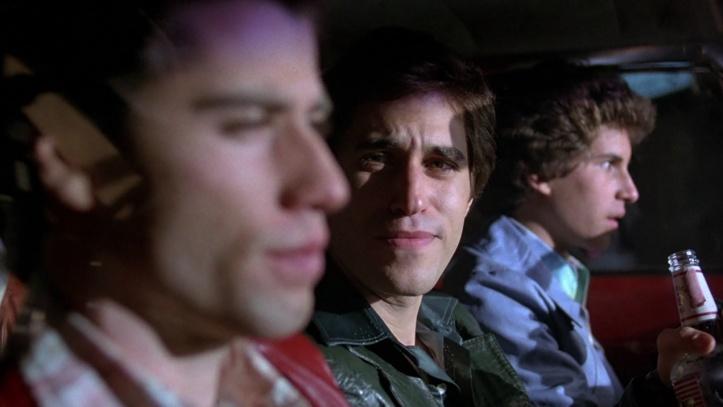 la fievre du samedi soir tony et ses amis dans la voiture