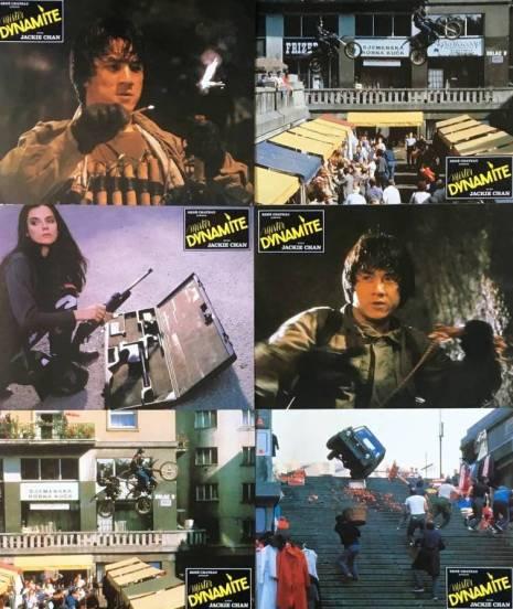 Mister dynamite 1986 jackie chan photos d'exploitation