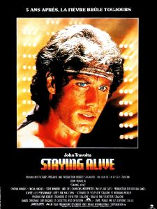 Staying_Alive 1983 affiche