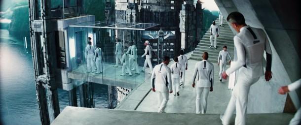 the-island(2005) les survivants de la contamination dans le complexe militaire