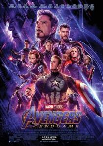 Avengers Endgame 2019 affiche