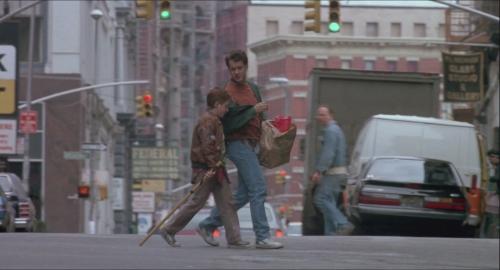 big tom hanks josh et billy dans la rue