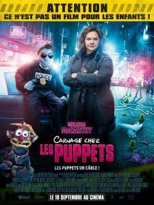 Carnage chez les muppets affiche
