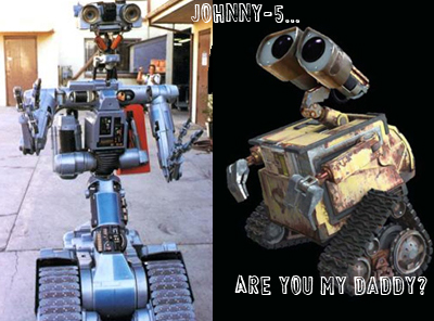 Johnny5 et wall-e