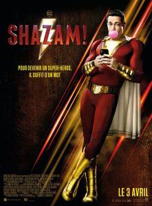 Shazam 2019 affiche