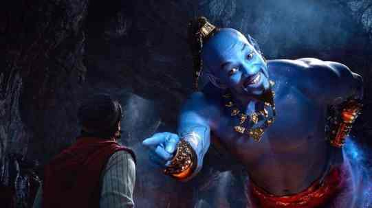 Aladdin 2019 disney aladdin face au génie de la lampe