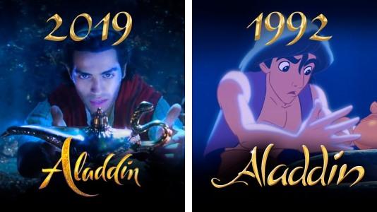 Aladdin version 1992 Vs Aladdin version 2019