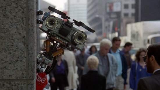 Appelez moi Johnny 5 le robot johnny 5 découvre new york
