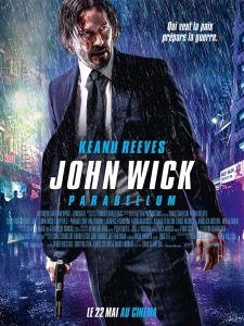 John Wick parabellum 2019 keanu reeves affiche