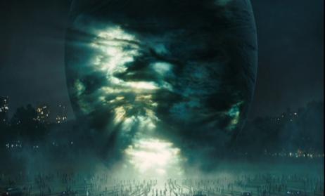 le jour où la terre s'arrêta 2008 le vaisseau de klaatu débarque sur terre devant des scientifiques et militaires