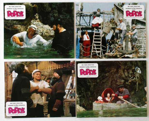 Popeye le film photos d'exploitation