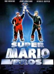 Super_Mario_Bros Le film Affiche