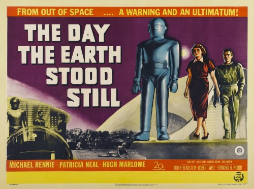 The Day the Earth Stood Still 1951 poster promo