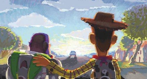 Toy Story 3 Goodbye artwork