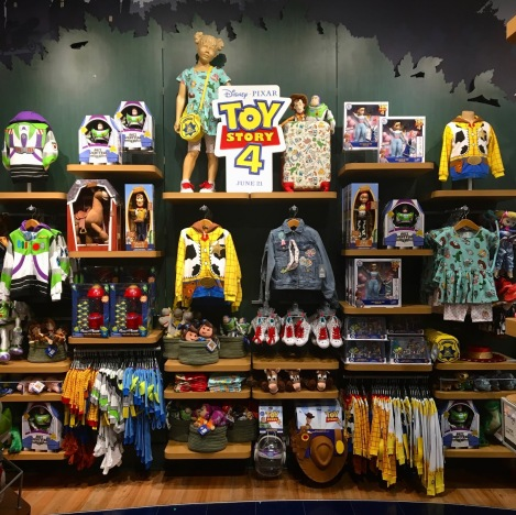 toy story 4 merchandising
