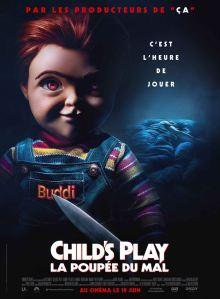 Child's Play la poupée du mal 2019 affiche