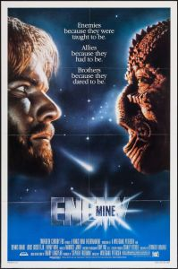 Enemy Mine 1985 affiche