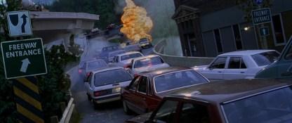 Le Pic de Dante 1997 explosion sur une route en plein bouchon