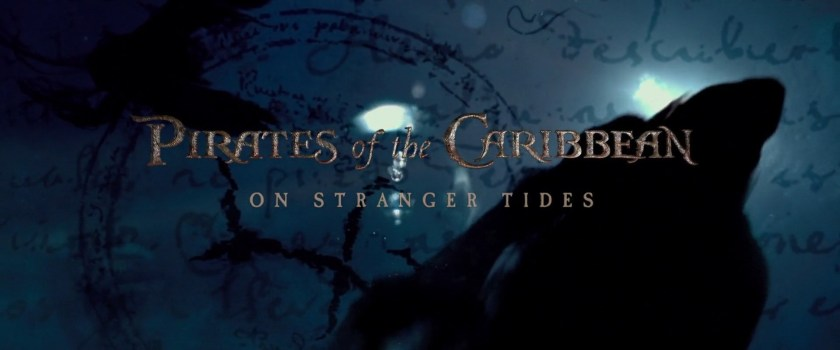 Pirates of the Caribbean On Stranger Tides title opening sirene