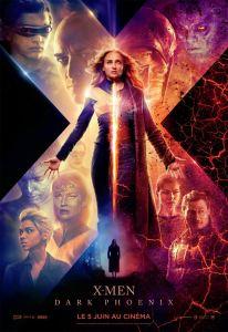 X men Dark Phoenix 2019 affiche