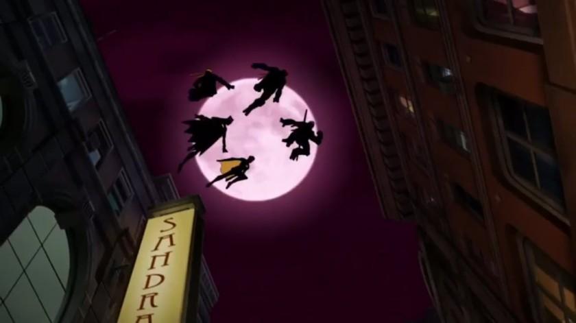 Batman Vs Tmnt 2019 batman et les tortues ninja sautent de toits en toits pendant la nuit