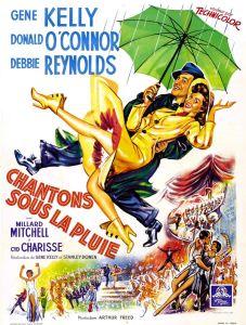 Chantons_sous_la_pluie 1952 Gene Kelly affiche