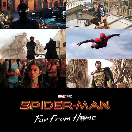 Spiderman Far From Home screen