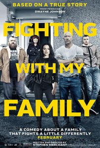 Fighting with my family 2019 affiche