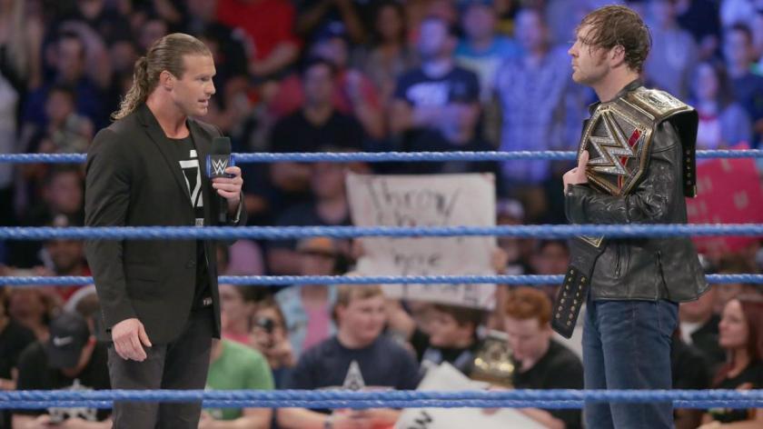 Wwe Dolph Ziggler face à Dean Ambrose