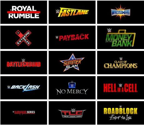 wwe list ppv 2019