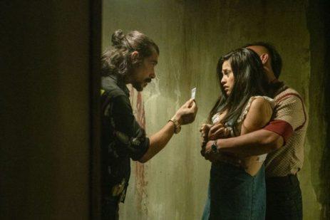 rambo last blood Gabrielle aux prises avec Diego Martinez, frère du chef de cartel Hugo martinez