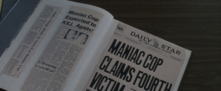 Maniac Cop 1 coupure de journal