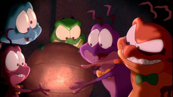 Space Jam les nerdlucks ont transféré dans un ballon de basket les talents de grands joueurs de la NBA