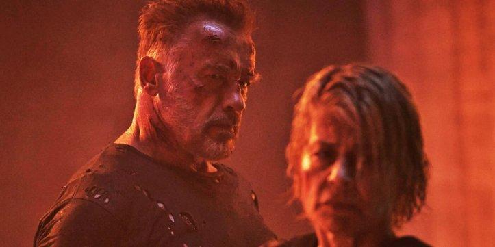 Terminator Dark Fate La pauvre Sarah n'en a pas fini avec le T101.