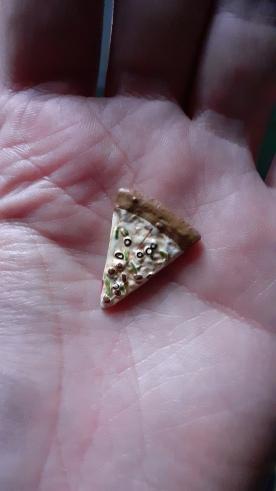 TEENAGE MUTANT NINJA TURTLE ACTION FIGURE MICHELANGELO Neca part de pizza