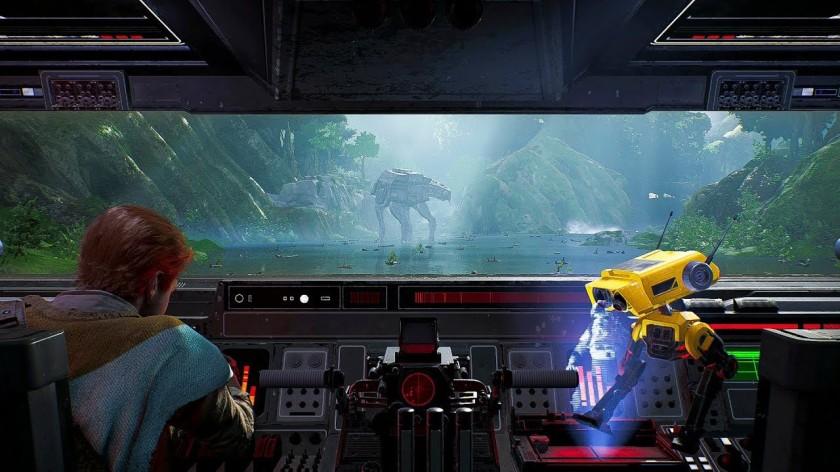 star wars jedi fallen order pilotage de walker un des meilleurs passages du jeu le pilotage dun AT AT belle revanche après battlefront