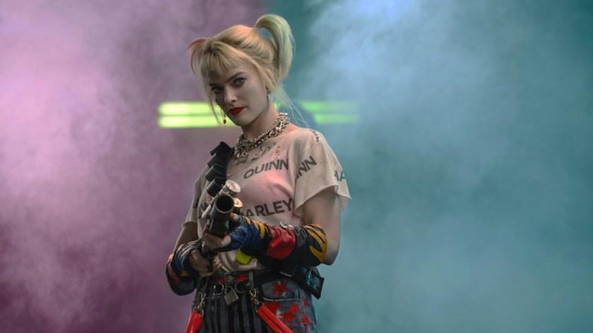 Birds Of Prey Harley Quinn armée d'un lance grenades un peu spécial